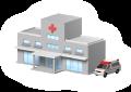 病院施設の画像