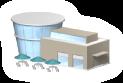 複合施設の画像